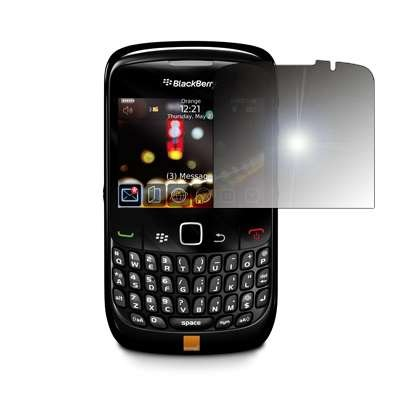Premium Reusable LCD Mirror Screen Protector for BlackBerry Curve 8520