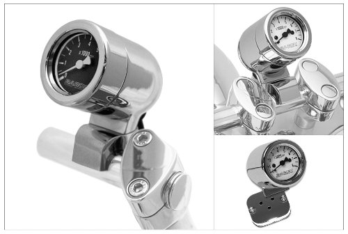 Baron Custom Accessories Mini Bullet Tachometer (10)