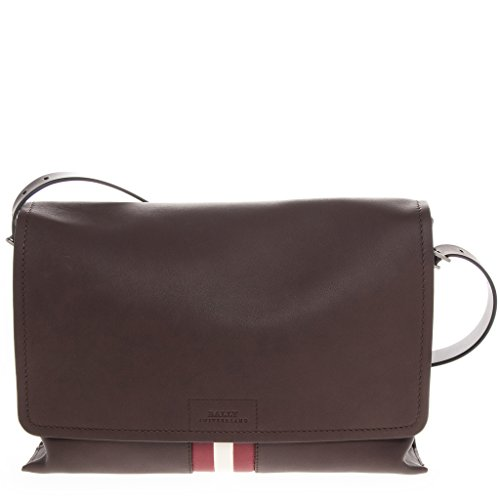 Bally Men's Bjorne Messenger Bag Brown by BALLY