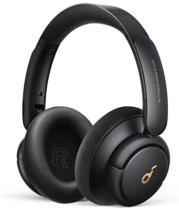 Soundcore via Anker Life Q30 Hybrid Active Noise Cancelling Headphones with Multiple Modes, Hi-Res Sound, Custom EQ by the use of App, 40H Playtime, Comfortable Fit, Bluetooth Headphones, Connect to two Devices