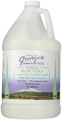 George's Always Active Aloe Vera — 128 fl oz