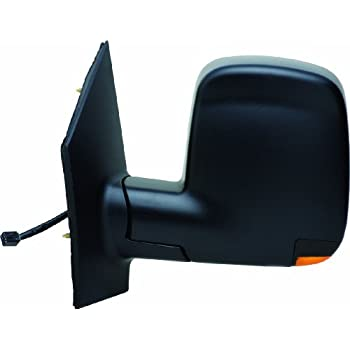 Depo 335-5429L3EFH2 Chevy Express//GMC Savana Driver Side Textured Heated Power Mirror with Turn Signal