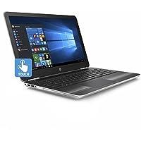 HP Pavilion 15.6 HD SVA BrightView Touchscreen Gaming Laptop PC, Intel i7-6500U 2.5GHz 12GB DDR4 RAM 1TB HDD NVIDIA GeForce 940MX Backlit Keyboard DVD+/-RW B&O PLAY USB 3.0 Windows 10 Silver