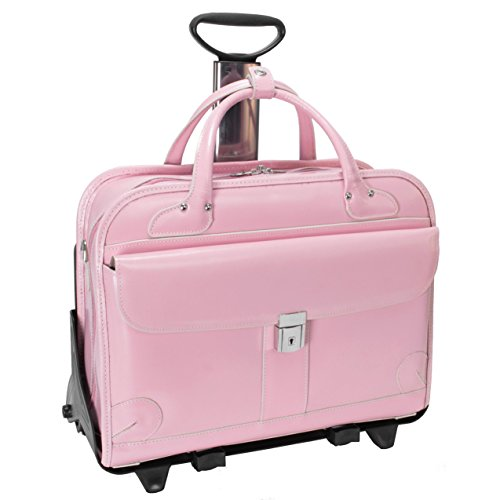 McKlein LAKEWOOD 96619 Pink Leather Fly-Through Checkpoin...