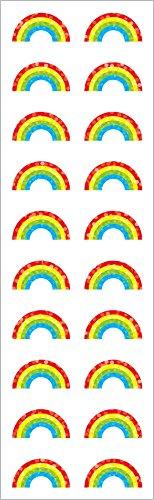 Mrs Grossman Sticker Roll - Mrs grossmans small rainbow stickers - 1 sheet off roll
