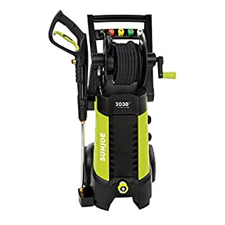 Sun Joe SPX3001 2030 PSI 1.76 GPM 14.5 AMP Electric Pressure Washer with Hose Reel, Green (B00LX8Z03K) | Amazon Products