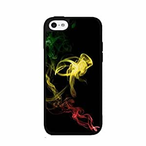 Rasta Smoke TPU RUBBER SILICONE Phone Case Back Cover iPhone 4 4s