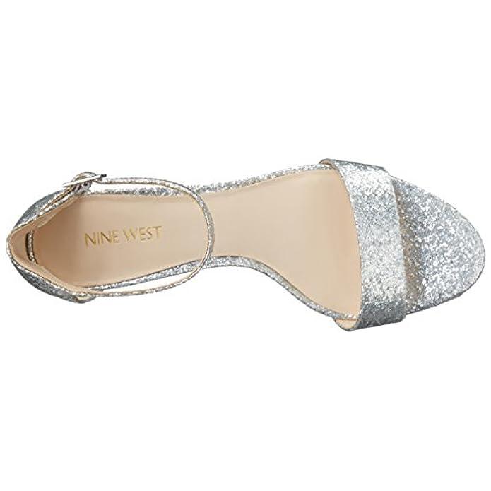 Sandalo Da Donna Leisa In Tessuto Sintetico Argento 6 5 Milioni Di Dollari Us
