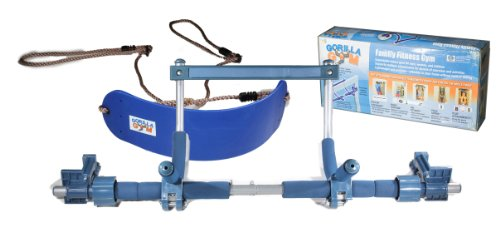 Gorilla Gym Children's Package, Indoor Children Swing, Blue