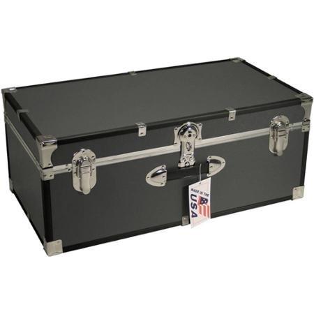 Kids Footlocker (Mercury Luggage Seward Trunk Stackable Storage Footlocker, Durable Wood)