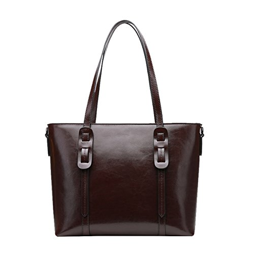 Handbags Dissa Multiple Shoulder Coffee Leather Women Bag Soft Pockets Q0930 6WP68Z