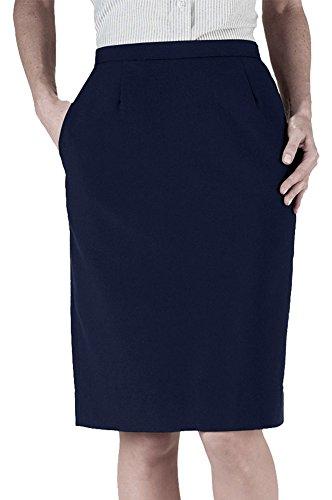 - Edwards Women's Polyester Skirt, DARK NAVY, 12