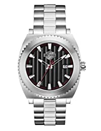 Bulova 76B164 Timepieces Men's Quartz Chronograph Watch with Black Dial and Stainless Steel Bracelet