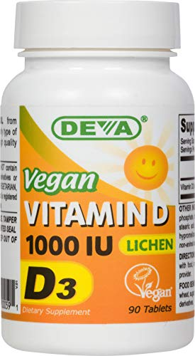 Vegan Vitamin D3-1000 IU - Lichen Source