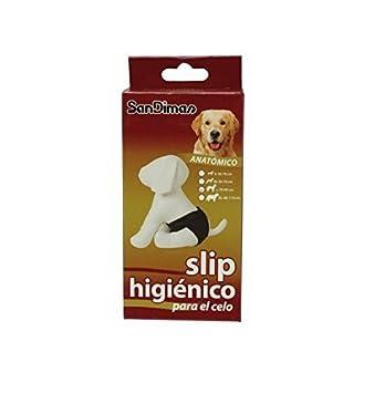 Slip anatómico / braguita higiénica para perras (para el celo) TALLA M