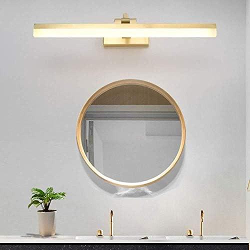 Lampade da parete Muro Luce Brillante condimento Tabella Impermeabile Anti-Fog Bagno Completo Rame Specchio di Luce Specchio Faro LED Light Doppio Colore Dimming