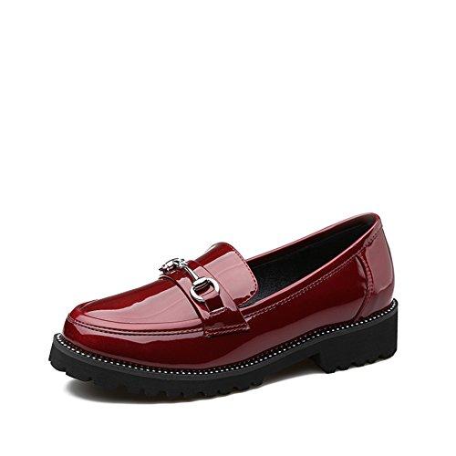 Colegio primavera viento zapatos/tacones de gatita/ocio zapatos de luz A
