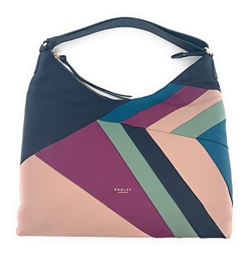 Radley London Oxleas Patchwork Large Zip-Top Hobo Shoulder Bag