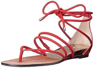 Vince Camuto Women's Adalson Gladiator Sandal, Juicy Nubuck, 6 M US