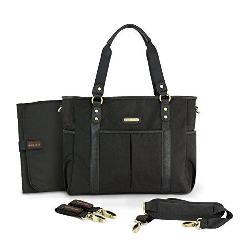 timi & leslie Classic Tote, Soho (Leather Soho Black)