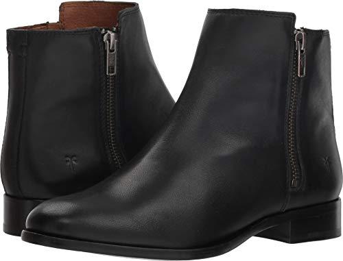 - FRYE Women's Carly Double Zip Black 9 B US