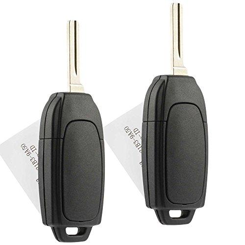 Flip Key Fob Keyless Entry Remote fits Volvo C30 C70 S40 S60 S80 V50 V70 XC60 XC70 XC90 (LQNP2T-APU), Set of 2 by USARemote (Image #1)