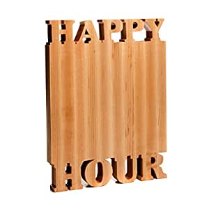 Happy Hour Cutting Board - Maple – Small