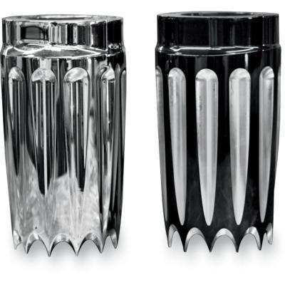 Paul Yaffe Originals Yafterburner Fork Slide Covers - Chrome YSC-C