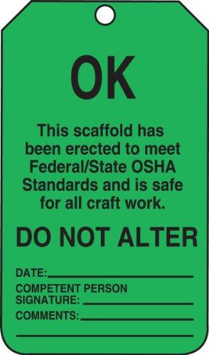 3CTP Scaffold Status Tag, Legend