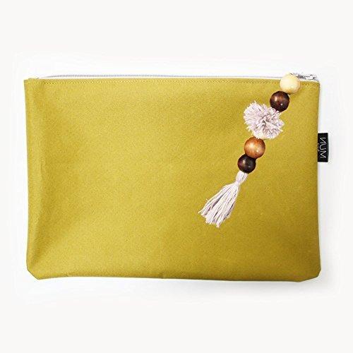 MUN Water Proof Wet Bikini Bag Classic Travel Selection (Yellow)