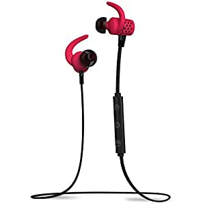 BlueAnt Wireless Stereo Bluetooth Headset for Bluetooth Enabled Devices - Retail Packaging - Red