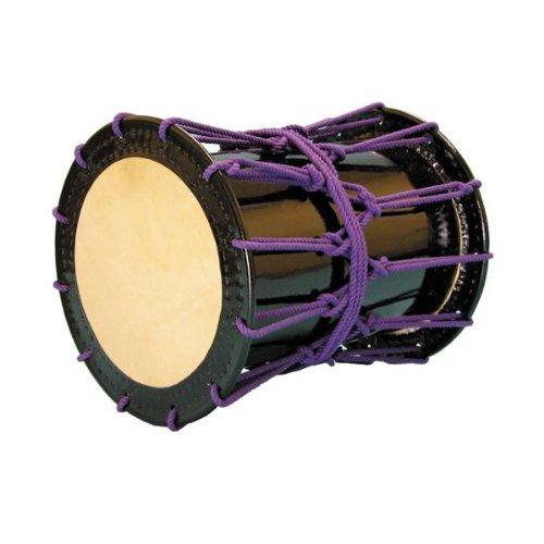 かつぎ桶胴太鼓1.4尺(紫紐)   B00IP24E7A