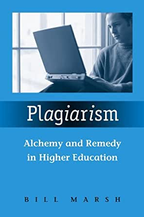 plagiarism in higher education Plagiarism – it's a word that many higher education professionals equate with cheating and a problem that continues to rise where exactly are students getting.
