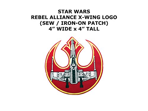 Assassin Creed Costume Diy (Rebel Alliance X-Wing Star Wars DIY Embroidered Sew or Iron-on Applique Patch Outlander Gear)