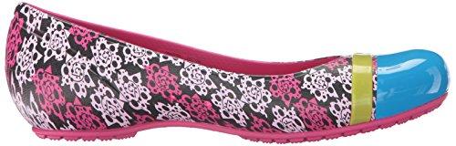 Mondo Toe Flat Cap Mujer Multicolor Rose Crocs W q4TZFw