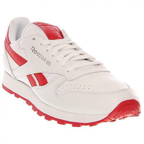 Reebok Klassisk Skinn Pop Blonder-up Mote Sneaker eVmExuGB