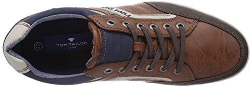 Tom Tailor Tom Tailor Herrenschuhe - zapatilla deportiva de material sintético hombre marrón - Braun (cognac)