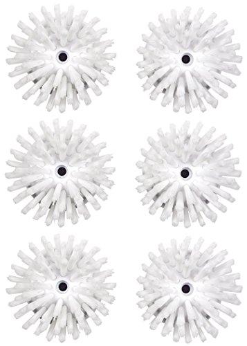 OXO Good Grips Soap Dispensing Palm Brush Refills, 6 Pack