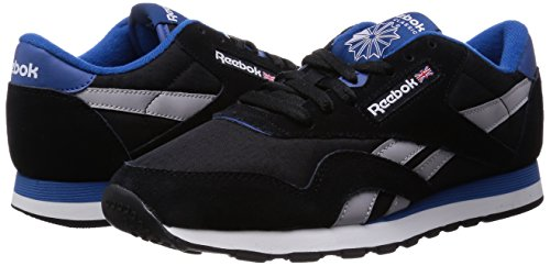 RS weiß Herren V66929 Reebok Cl Sneaker nylon blau schwarz pWgqExSq