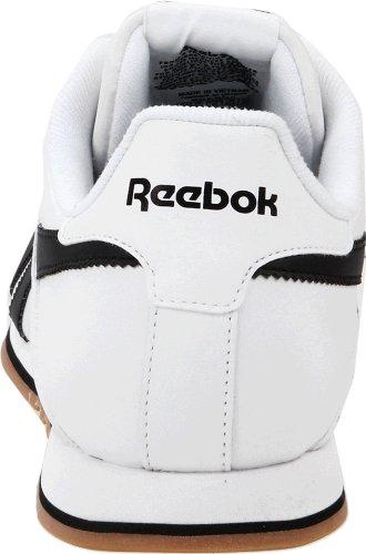 Reebok Mens Classic Supercourt Sneaker Bianco / Nero / Gomma