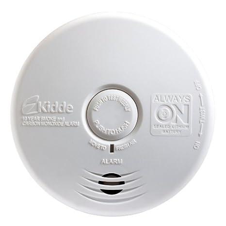 Kidde p3010 K-co cocina sin preocupaciones fotoeléctrico de humo y alarma de monóxido de