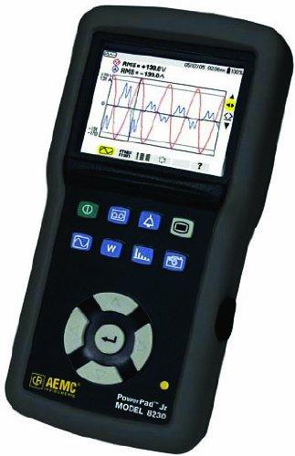 AEMC 8230 PowerPad Jr 1-Phase Power Quality Analyzer