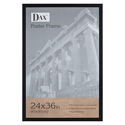 - Dax 24x36 Narrow Black Environmentally Friendly Wood Composite Wall Display Poster Frame
