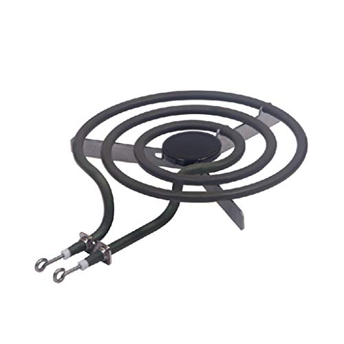 Range Replacement Burners, Replacement Part Hotpoint Range Stove Cooktop Burner Heating Element Kit 6''/8'' (A) Black