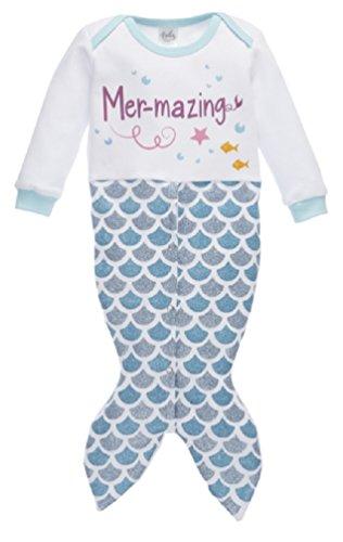 - Ganz Baby Girl Mermaid One Piece Sleeper Sleep Sack Bunting (3-9m)