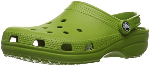 crocs 10001 Crocs Unisex Classic Clog Parrot Green Clog/Mule Men's 4, Women's 6 Medium