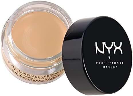 NYX Cosmetics Concealer Jar, Beige, 0.25 Ounce