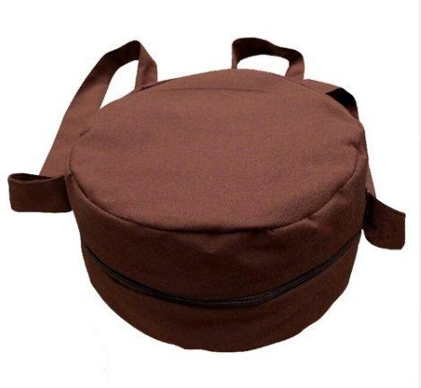 Zooboo Mönch Zen Buddha Taschen–Buddhismus Zen Single Schulter Mönch Bag chaoshan luohan Jushi Tasche von Zisha Schüssel Tasche–Baumwolle coffee gdMmvfld