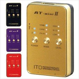 5位 伊藤超短波 低周波治療器 AT-mini II (AT ミニ2) ブラック