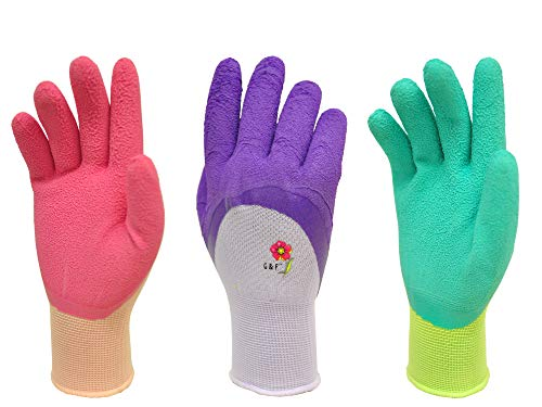 Women Gardening Gloves with Micro Foam Coating